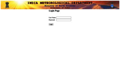 imd.gov.in - india meteorological department