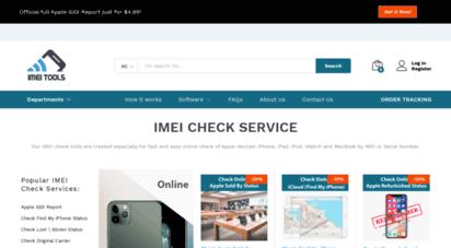 imei.tools - imei check service  imei.tools