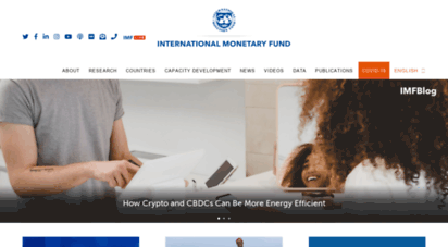 imf.org - international monetary fund - homepage