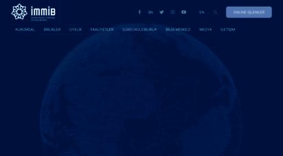 immib.org.tr - immib - istanbul maden ve metaller ihracatçı birlikleri