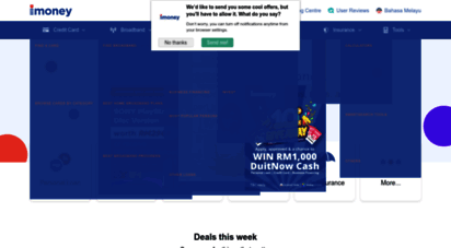 imoney.my - compare home & personal loans, credit cards and broadband