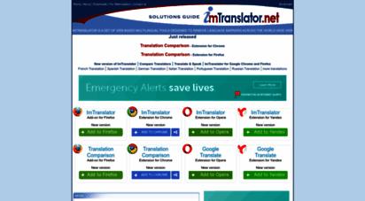 imtranslator.net - imtranslator.net : translate your mind