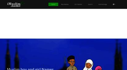 imuslim.name - good names! for muslim boy and girl