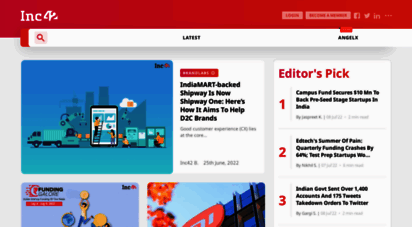 inc42.com - inc42: latest indian tech startup news, entrepreneurs & startup stories