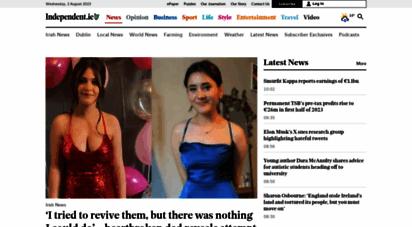 independent.ie - breaking news ireland - latest world news headlines - independent.ie