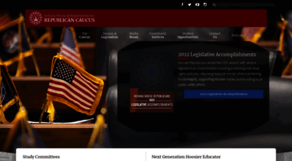 indianahouserepublicans.com - state of indiana house of representatives