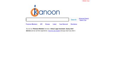 similar web sites like indiankanoon.org