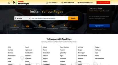 indianyellowpages.com - indian yellow pages  india business & service directory  indianyellowpages