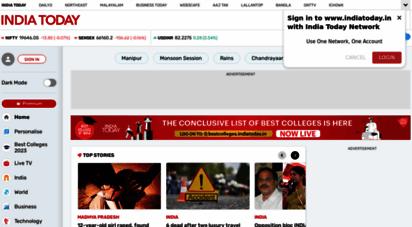 similar web sites like indiatoday.in