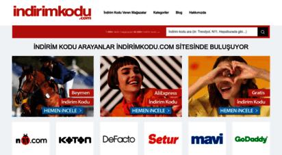 indirimkodu.com - indirim kuponu sitesi - indirim kodu