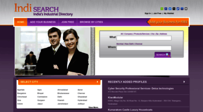 indisearch.com - indisearch.com - india´s industrial directory