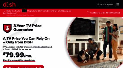 infinitydish.com - dish network tv - $19.99/mo. + internet bundles  infinity dish