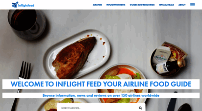 inflightfeed.com - airline food, airline meal reviews and buy on board inflight meals!