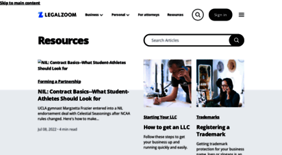 Welcome to Info legalzoom com - LegalZoom: Legal Info