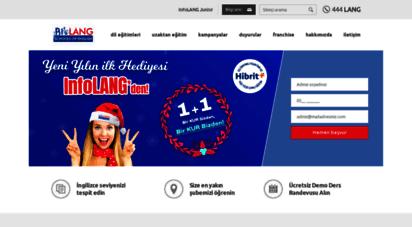 infolang.com - infolang dil okullarý dünyanýn dili