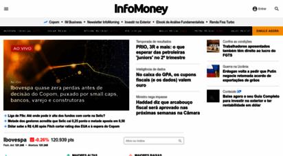 infomoney.com.br - infomoney - informação que vale dinheiro  infomoney