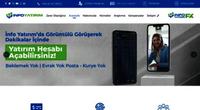 infoyatirim.com - info yatırım menkul değerler a.ş.