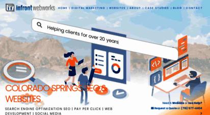 infront.com - digital marketing agency  seo, sem, website development & ppc