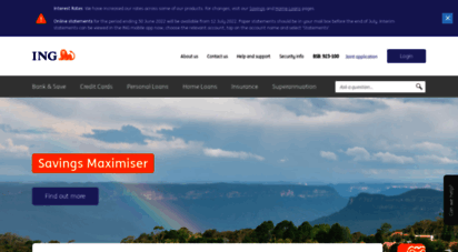 ing.com.au - ing - personal and business banking. how banking can be.