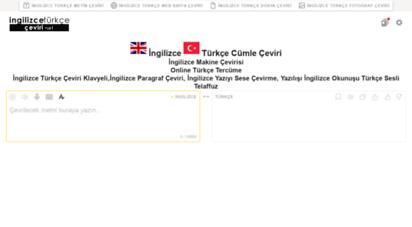 ingilizce-turkce-ceviri.net - ingilizce türkçe çeviri cümle çeviri online tercüme