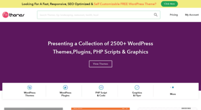 inkthemes.com - marketplace: 2500 wordpress themes, plugins & scripts  inkthemes