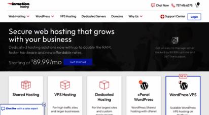 inmotionhosting.com - web hosting: secure, fast, & reliable  inmotion hosting