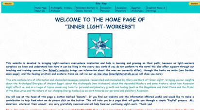 innerlightworkers.co.uk - inner light workers home page