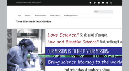 insanitek.net - insanitek -  science gets the glory