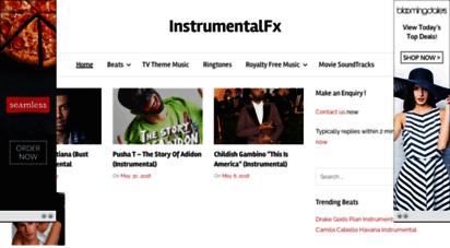 instrumentalfx.co - instrumentalfx  free hip hop beats, ringtones, type beats & karaoke