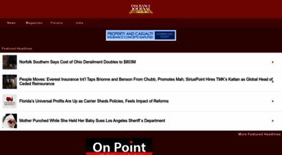 insurancejournal.com - insurance journal - property casualty insurance news