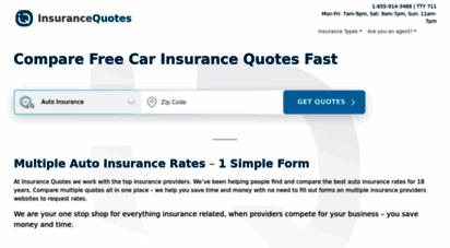 insurancequotes.com - car insurance quotes & more  insurancequotes