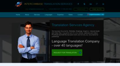 intercombase.com - intercombase translation services - translation services in london, uk