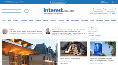 interest.co.nz - interest.co.nz  helping you make financial decisions