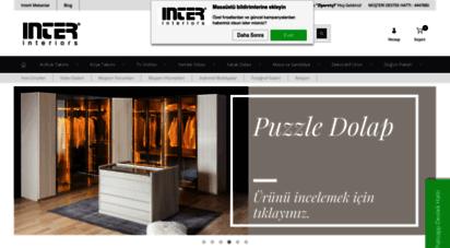 intermobilya.com.tr - inter mobilya - online mobilya modelleri ve fiyatları