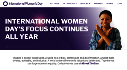 internationalwomensday.com - international women´s day