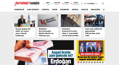 internethaber.com - haber, haberler, son dakika haberler