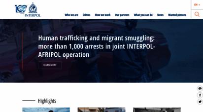 interpol.int - interpol  the international criminal police organization