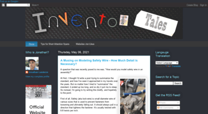 inventortales.com - inventor tales
