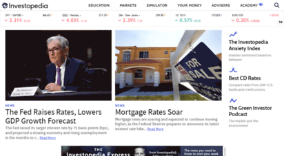 investopedia.com - investopedia: sharper insight, better investing.