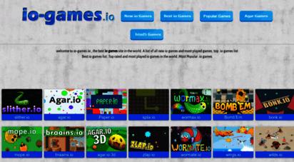 io-games.io - io games list, all .io games- io-games.io