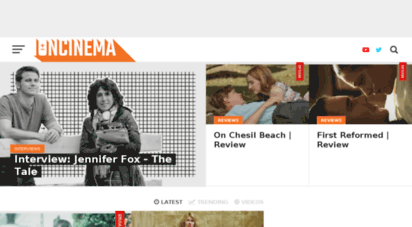 ioncinema.com - u.s. indie news, filmmaker interviews, film festivals, movie reviews  ioncinema - we heart subtitles