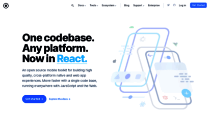 ionicframework.com - ionic - cross-platform mobile app development
