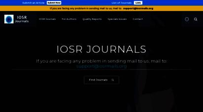 iosrjournals.org