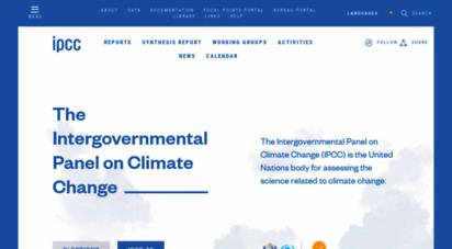 ipcc.ch - ipcc — intergovernmental panel on climate change