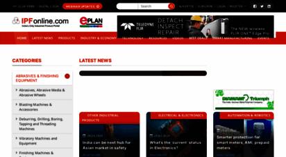 ipfonline.com - ipf online - industrial products finder