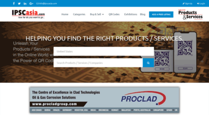 ipscasia.com - industrial products manufacturers  industrial products & services directory - ipscasia