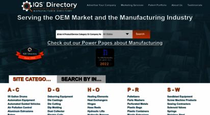 iqsdirectory.com - oem manufacturers  oem manufacturing companies  iqs directory