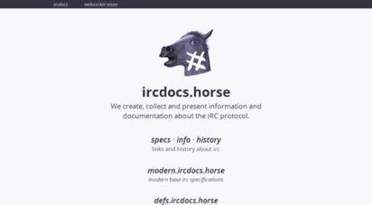ircdocs.horse