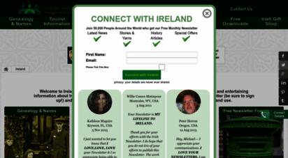 ireland-information.com - ireland, free family crests, maps, genealogy and information