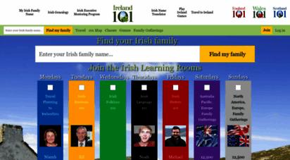 ireland101.com - ireland 101  irish name translator, irish baby girl names, irish baby boy names, irish family names, ireland counties, ireland information